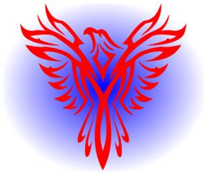 Clip art at clker. Bird clipart phoenix