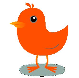 Tweet twitter bird panda. Birds clipart red robin