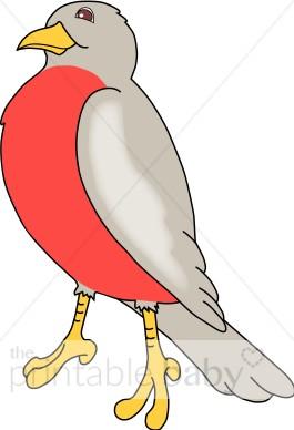 Birds clipart red robin. Bird