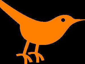 Twitter bird clip art. Birds clipart simple