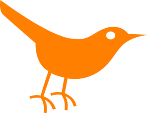 Bird clipart simple. Twitter clip art at