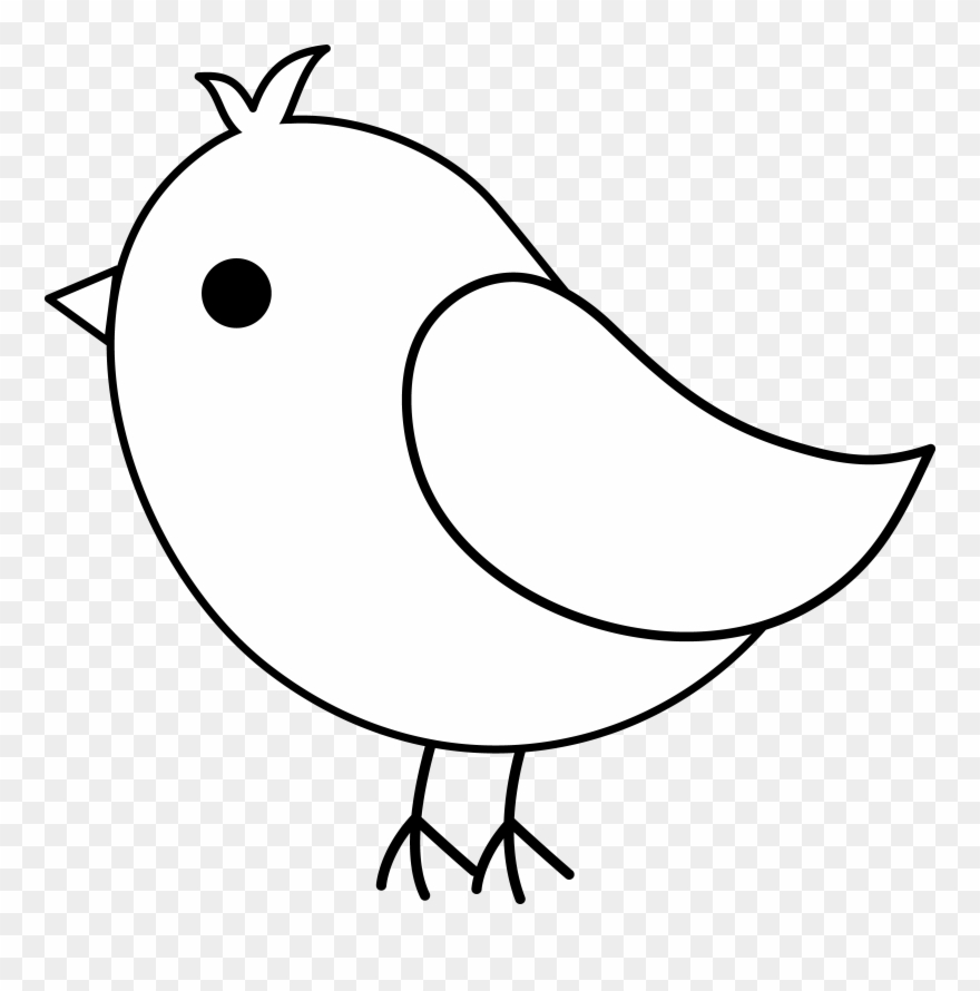 Bird clipart simple. Image library anatomical drawing