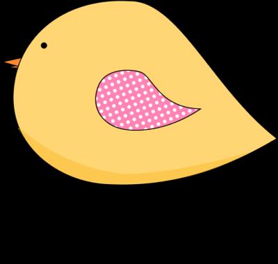 Bird clipart spring. Yellow clip art image