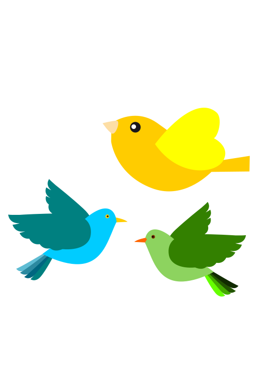 vines clipart bird