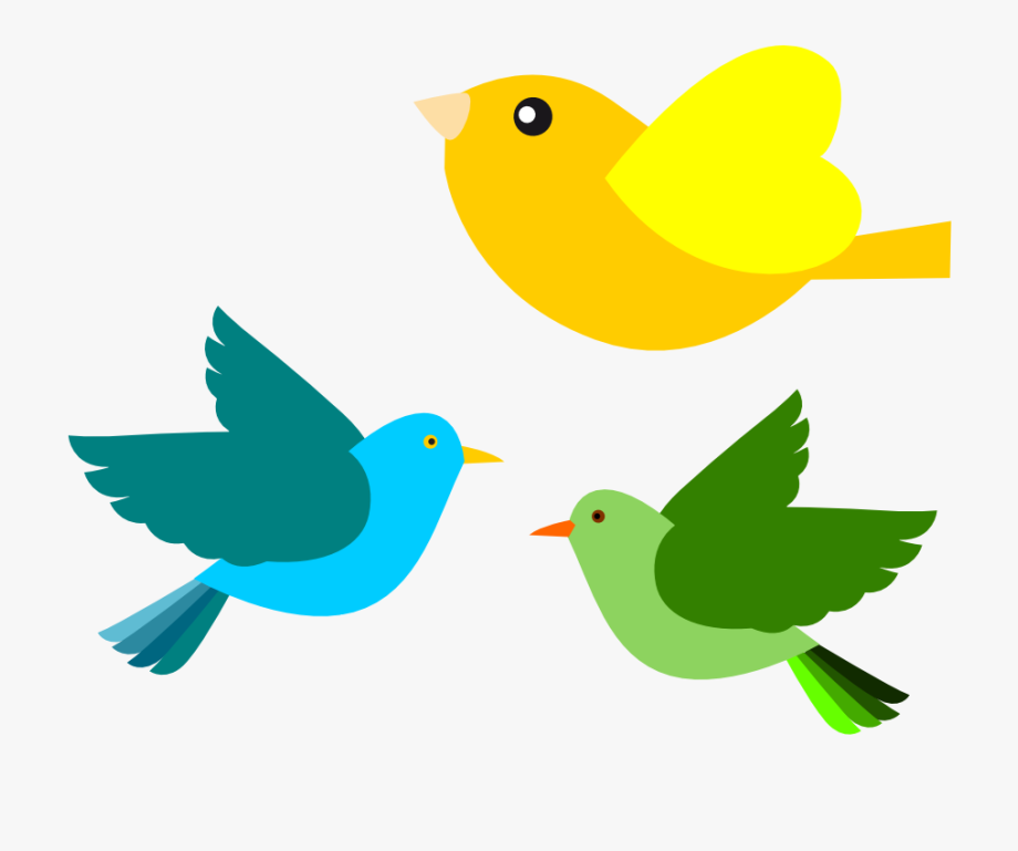 Bird clipart spring. Png flying