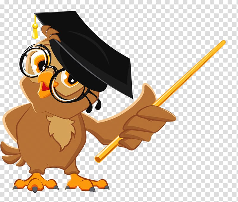 Brown illustration education teacher. Owl clipart professor