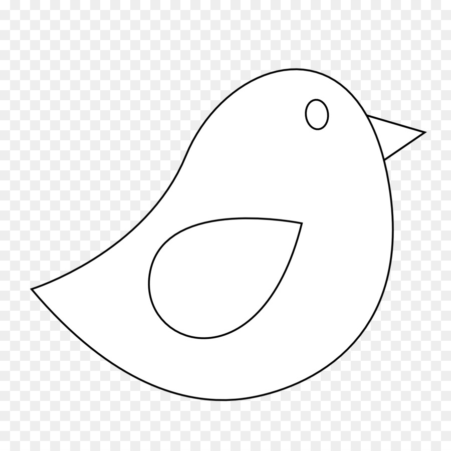 Bird clipart template. Line drawing graphics pattern