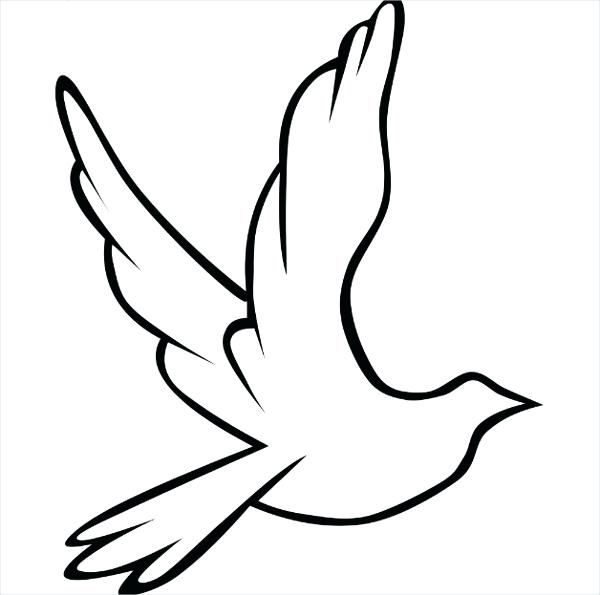 printable templates free. Bird clipart template