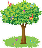 Bird clipart tree.  collection of on
