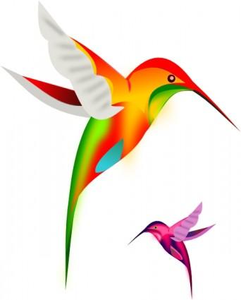 Free humming download clip. Bird clipart vector