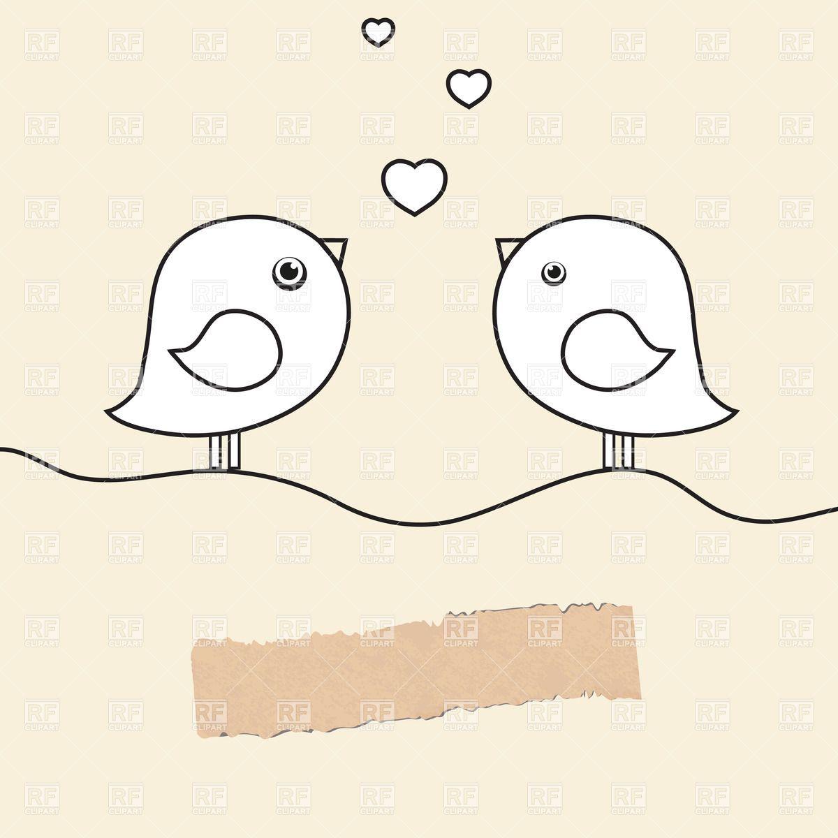 Birds clipart wedding. Cliparthut free
