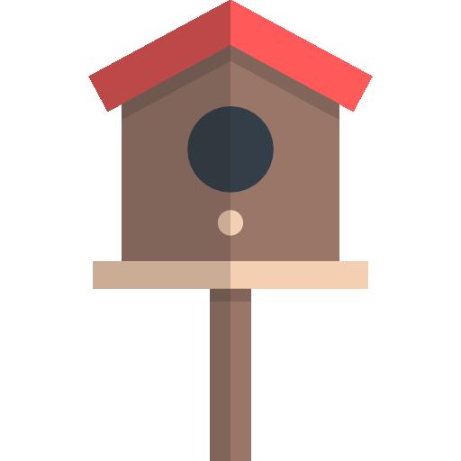 Birdhouse icon svg . Bird house png
