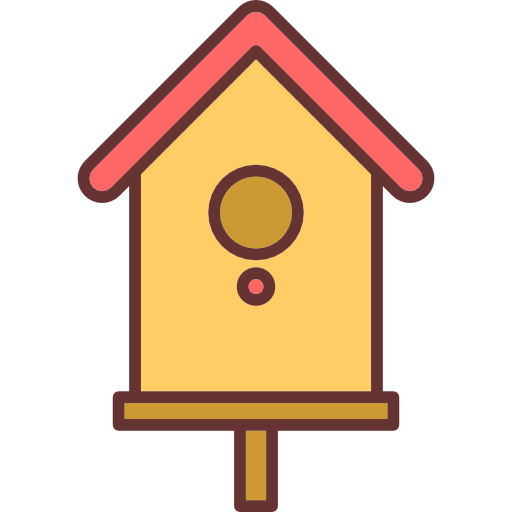 Bird house png. Icon svg eps more