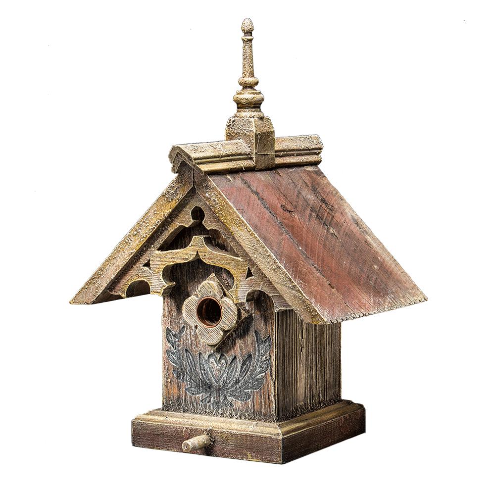 Bird house png. Gothic birdhouse barns into