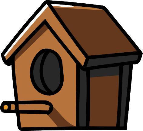 bird house png