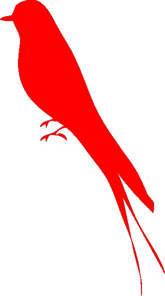 Bird vector png. Red clip art at