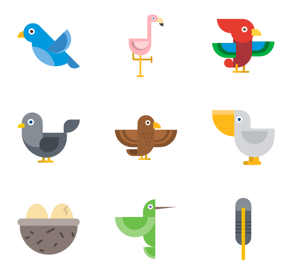 Bird vector png. Icons free collection