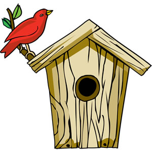 Birdhouse clipart. Free cliparts download clip