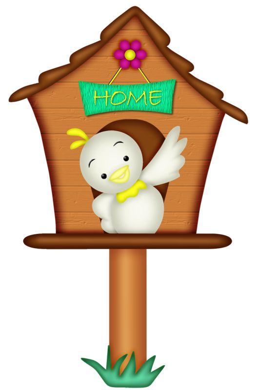 birdhouse clipart animated