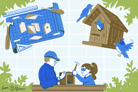 free diy plans. Birdhouse clipart bird box