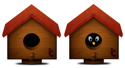 Image of birdhouse free. Doghouse clipart bird house