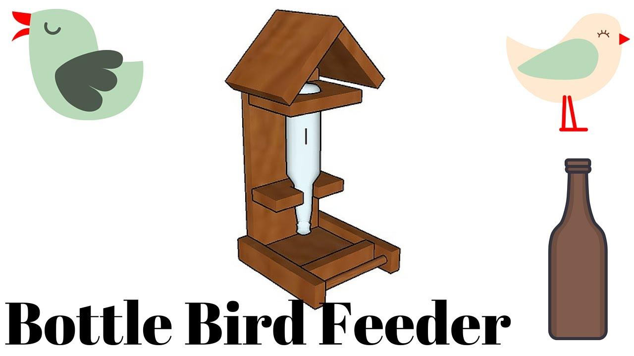 Bottle bird feeder plans. Birdhouse clipart birdfeeder