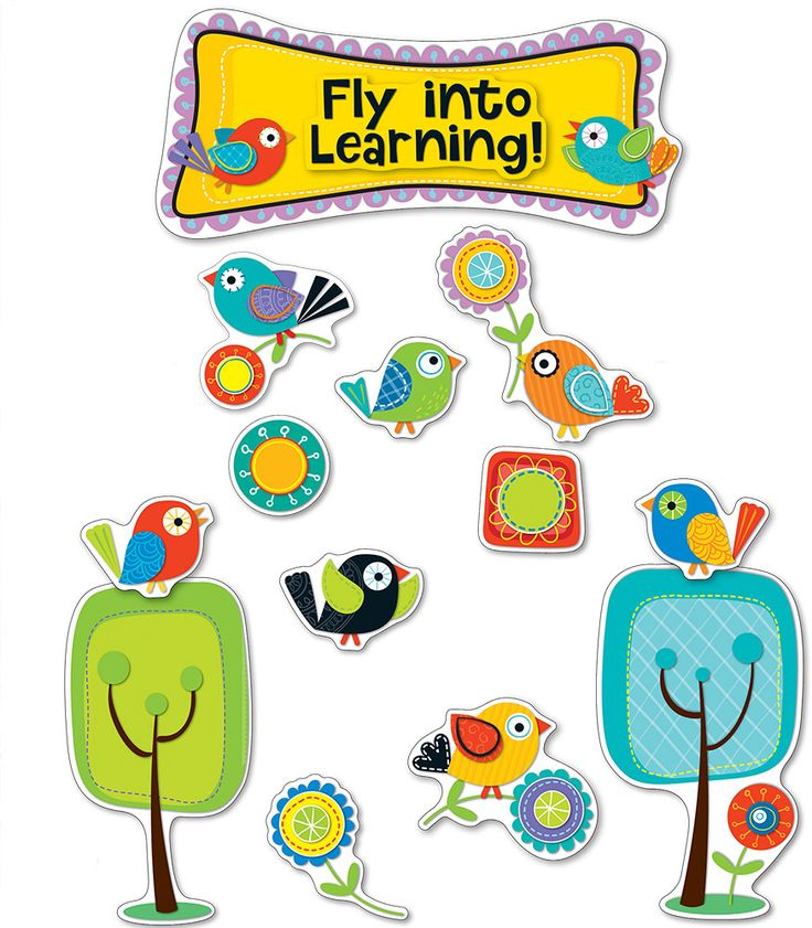 Boho clipart themed.  best birds classroom