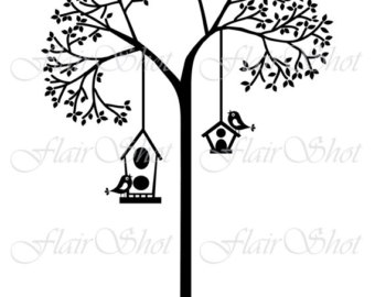Birdhouse clipart branch. Drawing images at getdrawings
