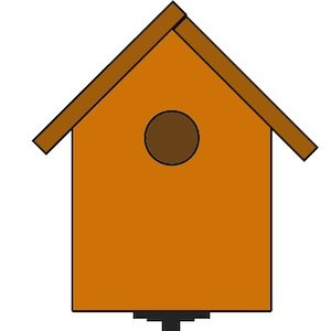 How to make a. Birdhouse clipart building