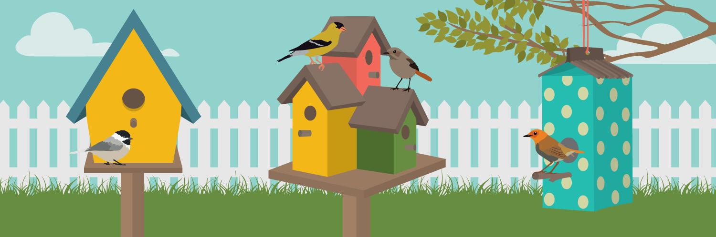 Birdhouse clipart building. How to build a