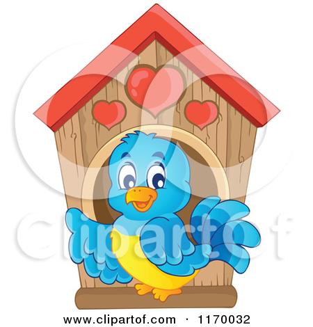 . Birdhouse clipart cartoon