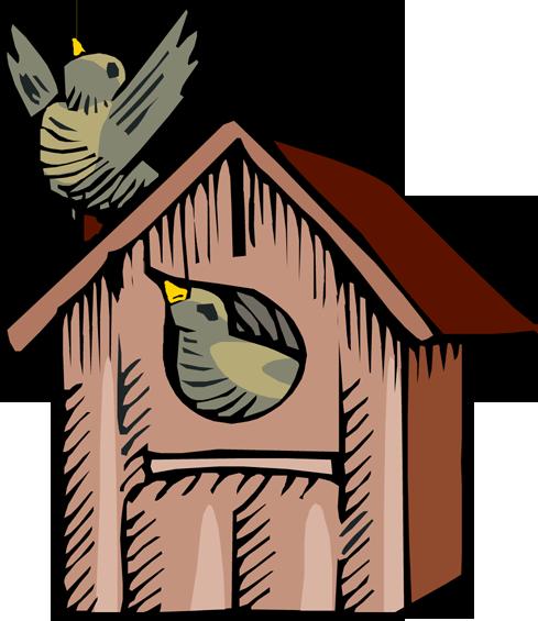 Free cliparts download clip. Birdhouse clipart cartoon