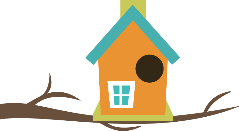 Birdhouse hostted wikiclipart. Clipart home bird