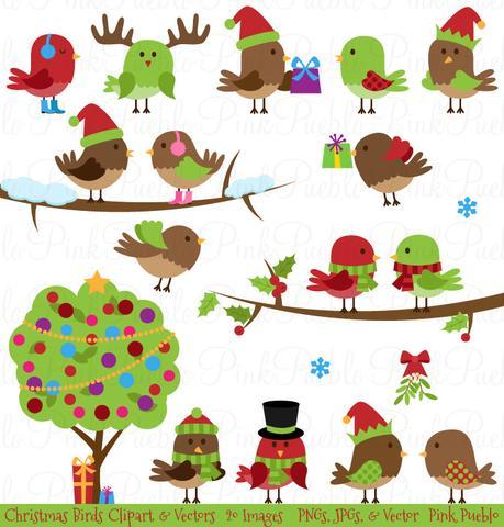 Birdhouse clipart christmas. Vectors page pinkpueblo sale