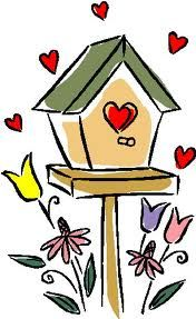 Frame pinterest google search. Birdhouse clipart christmas in dixie