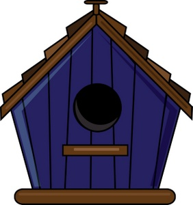 Birdhouse clipart clip art. Library