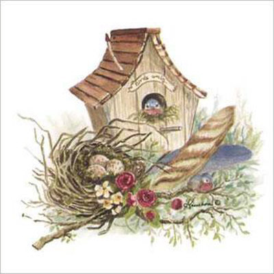 Wikiclipart . Birdhouse clipart country