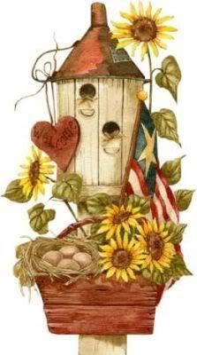 Google search scrapbooking pinterest. Birdhouse clipart country
