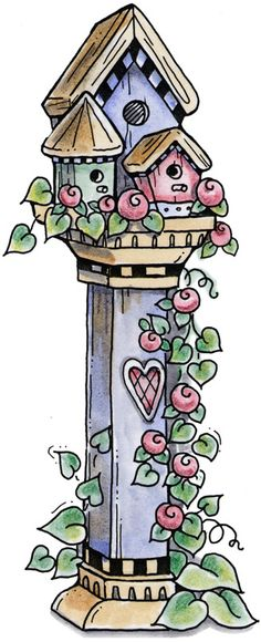 Birdhouse clipart country. Holiday and pumpkin clip