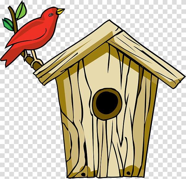 Feeders nest box roof. Birdhouse clipart couple bird