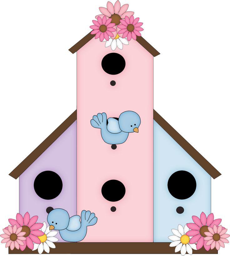 Birdhouse clipart cute.  best bird house