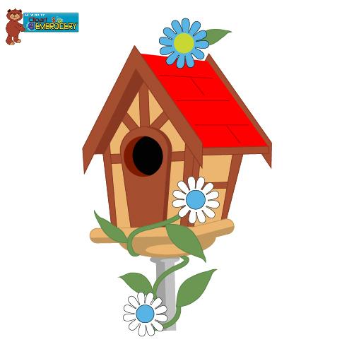 Birdhouse clipart home. Clip art bird