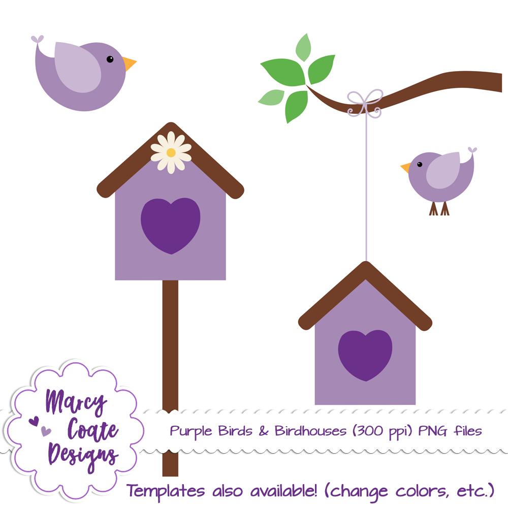 birdhouse clipart house post