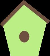 birdhouse clipart nature
