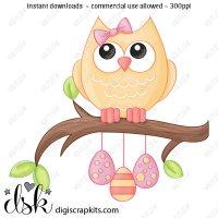 Clip art digi scrap. Birdhouse clipart owl