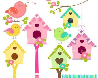 Birdhouse clipart pastel. Free download best on