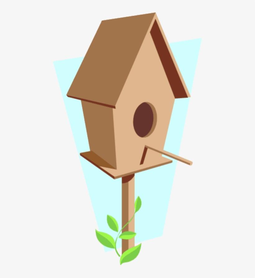 Birdhouse clipart pigeon house. Bird png cartoon free
