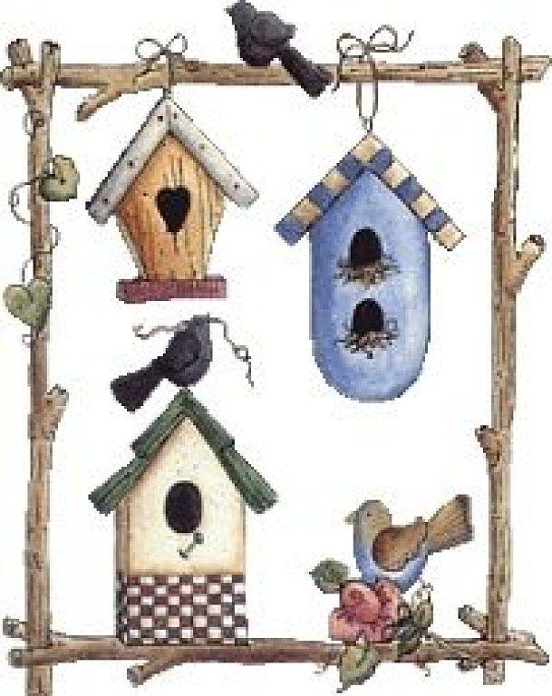Birdhouse clipart pigeon house.  best pajareras images