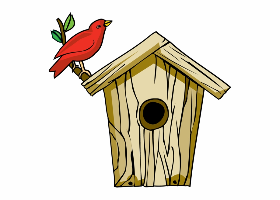 Birdhouse clipart pigeon house. Bird for home clip