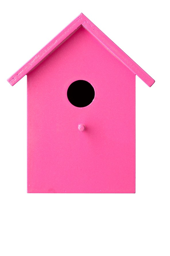 Birdhouse clipart pink. Free bird house picture